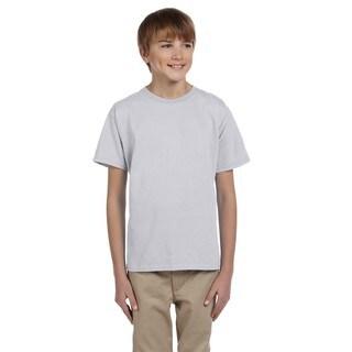 Comfortblend Boys' Ecosmart Crewneck T-Shirt Ash