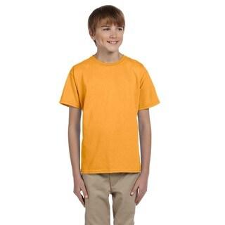 Comfortblend Boys' Ecosmart Gold Crewneck T-shirt