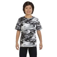 Boys' Camouflage Urban Woodland T-shirt
