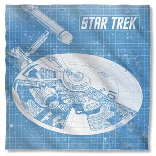 Star Trek/Enterprise Blueprint Polyester Bandana