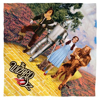 Wizard Of Oz/On The Road Polyester Bandana