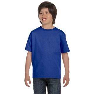 Hanes Boys' Deep Royal Blue Beefy-T T-shirt
