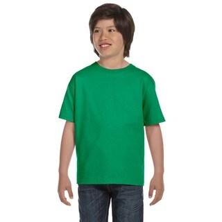 Beefy-T Boys' Kelly Green Cotton T-Shirt