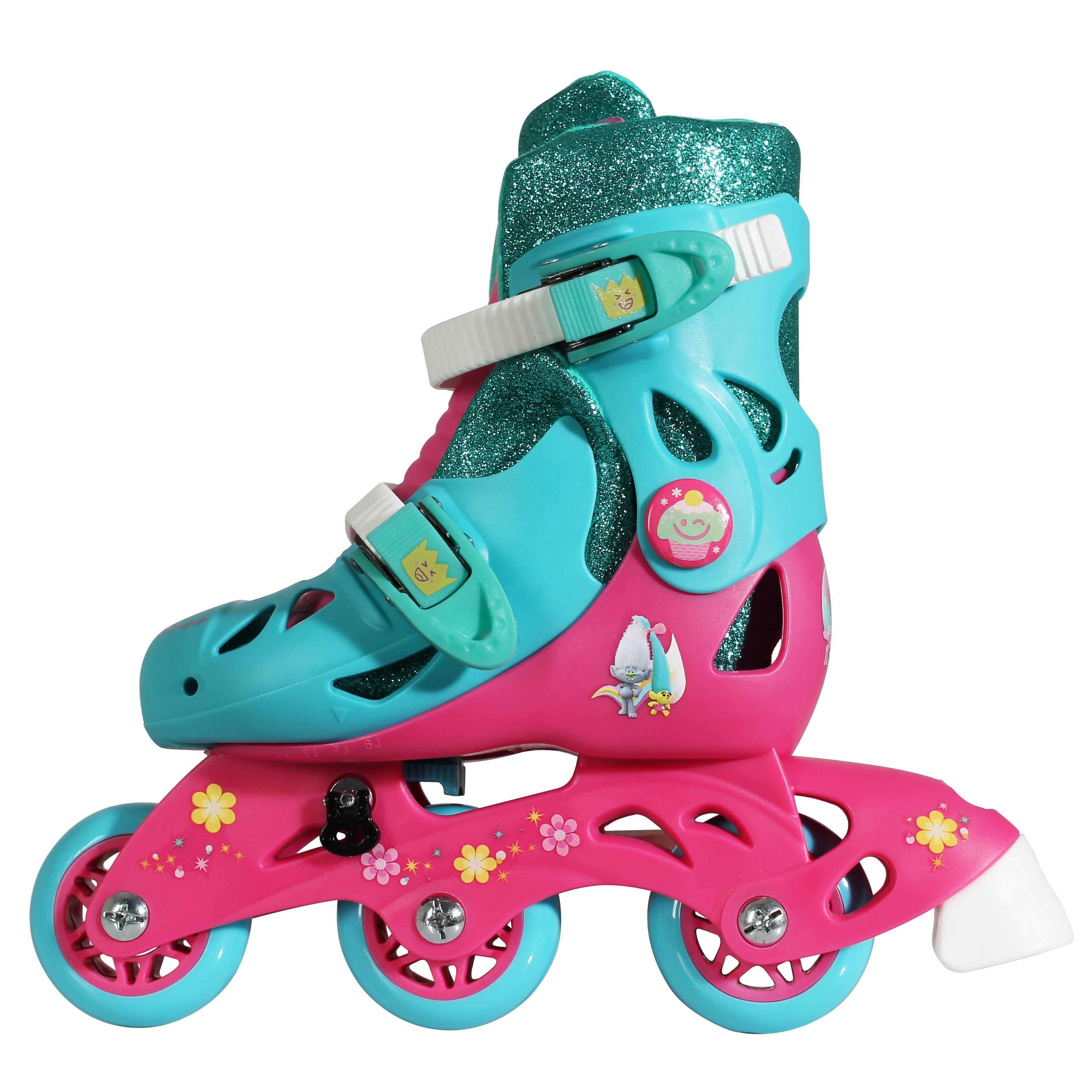 Bravo Playwheels Trolls Junior Size 6-9 Convertible 2-in-...