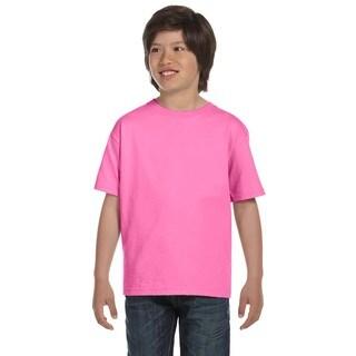 Beefy-T Boys' T-Shirt Pink