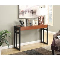 Convenience Concepts Monterey Cherry Wood Console Table