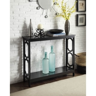 Omega Console Table in Black or White