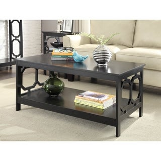 Convenience Concepts Omega Coffee Table in Black or White