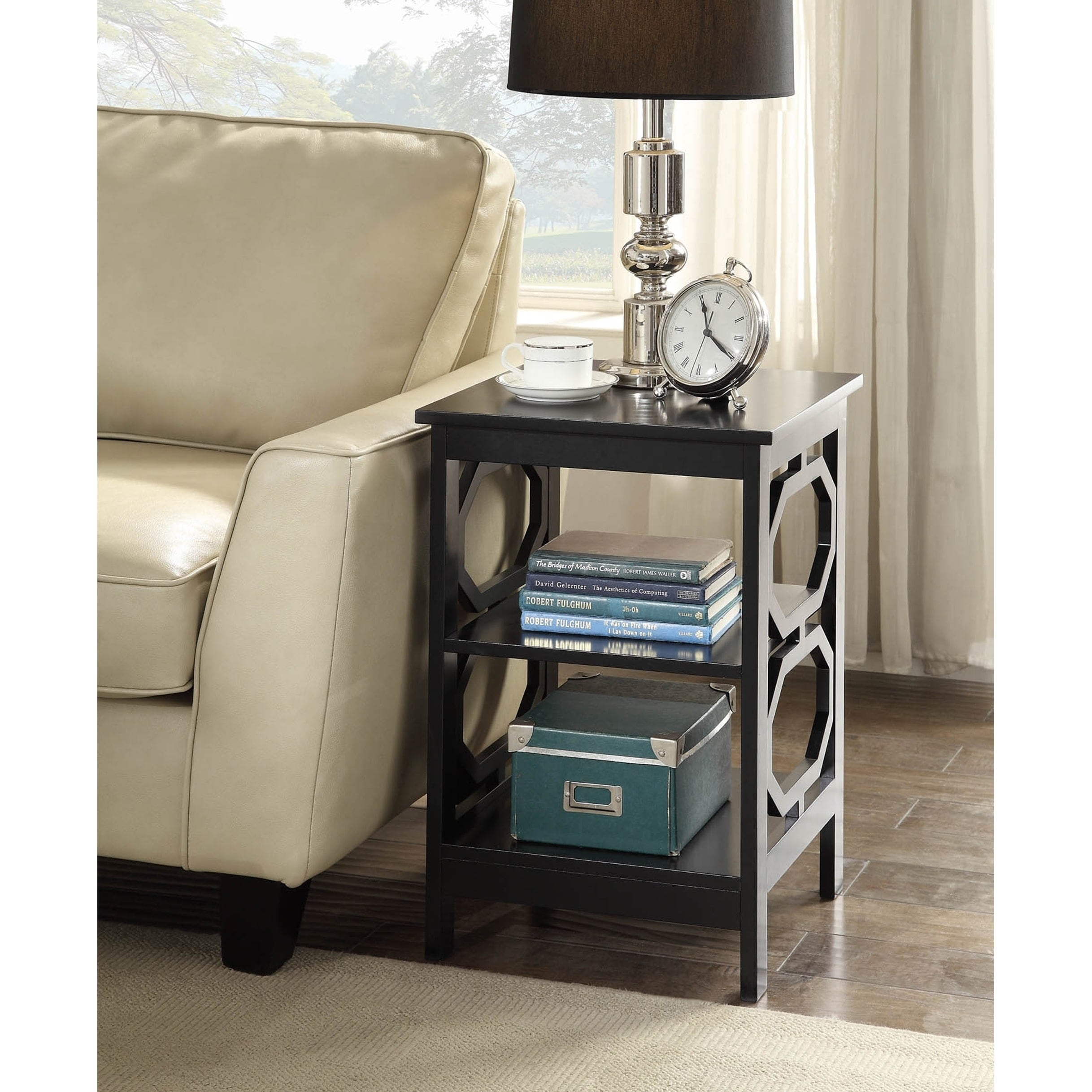 Good Convenience Concepts Omega Wood End Table