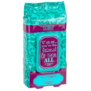 Jean Pierre Yes You're the Fairest of Them All Cucumber 60-count Facial Towelettes