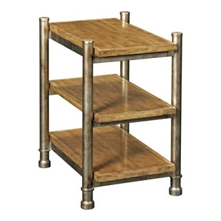 Broyhill New Vintage Brown Shelf End Table