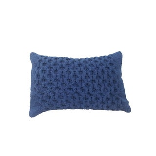 14-inches x 20-inches Knit Throw Pillow