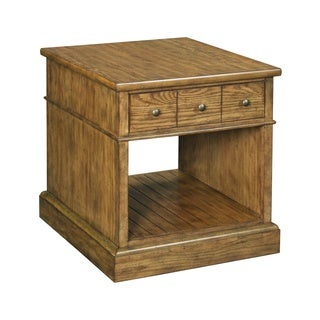 Broyhill New Vintage Brown Single Drawer End Table