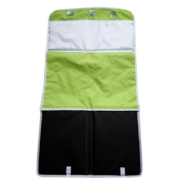 Bath Kneeling Safety Pad & Storage - Bathtub Kneeler & Elbow Cushion (Regular, Green)
