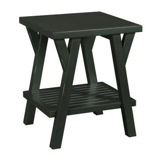 Broyhill New Vintage Ebony Splay Leg End Table