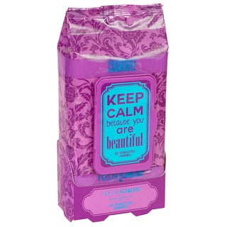 Jean Pierre KEEP CALM Because You Are Beautiful Chamomile 60-count Facial Towelettes