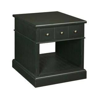 Broyhill New Vintage Ebony Drawer End Table