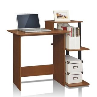 Porch & Den East Village Baruch Efficient Home Laptop Notebook Computer Desk (Option: Walnut - Walnut Finish)