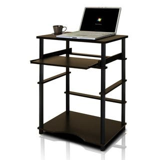 Home Pipe Frame Laptop Notebook Computer Desk with Pull-Out Keyboard Tray|https://ak1.ostkcdn.com/images/products/12309200/P19143808.jpg?impolicy=medium