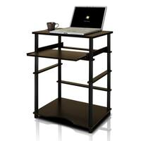 Home Pipe Frame Laptop Notebook Computer Desk with Pull-Out Keyboard Tray