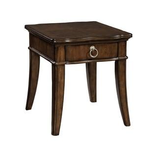 Broyhill Elaina Cherry Wood Single Drawer End Table