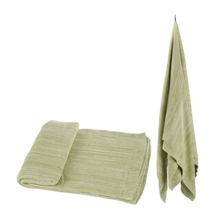 100-percent Cotton Green Throw