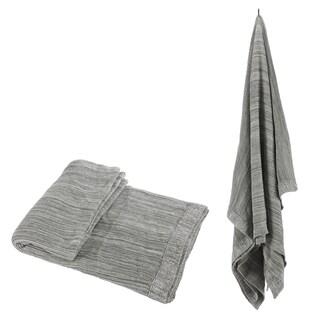 100-percent Cotton Grey Throw