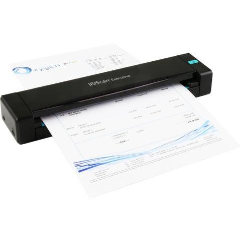 I.R.I.S. IRIScan Executive 4 Sheetfed Scanner - 600 dpi Optical