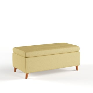 Harper Mid Century Storage Ottoman Bench by Christopher Knight Home