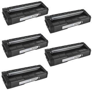 5PK Compatible 407653 Toner Cartridge For Ricoh SP C252DN C252SF  ( Pack of 5 )