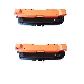 2PK Compatible CE260A Toner Cartridge For HP Color LaserJet HP 4525 4025 Printer ( Pack of 2 )