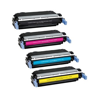 1Set+1BK Compatible CB400A CB401A CB402A CB403A Toner Cartridge For HP Color LaserJet CP4005 CP4005dn CP4005n ( Pack of 5 )