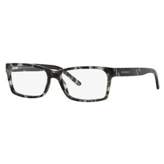 Burberry BE2108 3533 Grey Havana Square Eyeglasses w/ 54mm Lens