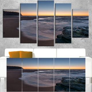 Sunrise at Sydney Over Sea - Seashore Canvas Wall Artwork