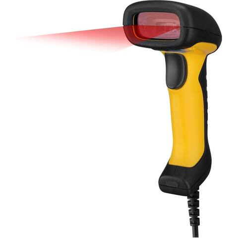 Adesso NuScan 2400U Waterproof Handheld CCD Barcode Scanner