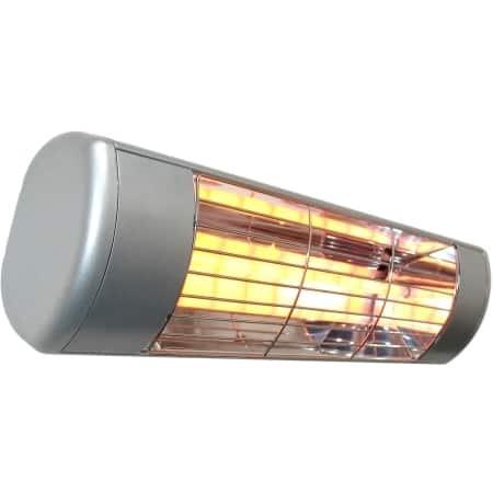 SUNHEAT Aluminum Outdoor Weatherproof 1,500-watt 120-volt Electric Wall-mounted Heater