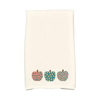 16 X 25-inch 3 Little Pumpkins Holiday Geometric Print Hand Towel