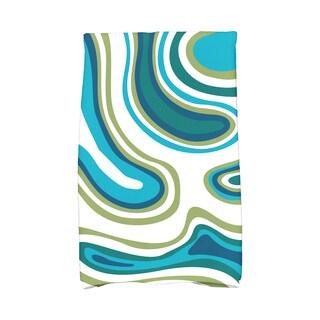 16 X 25-inch Agate Geometric Print Hand Towel