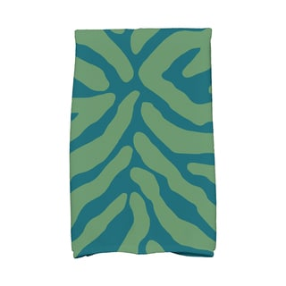 16 X 25-inch Animal Stripe Geometric Print Hand Towel