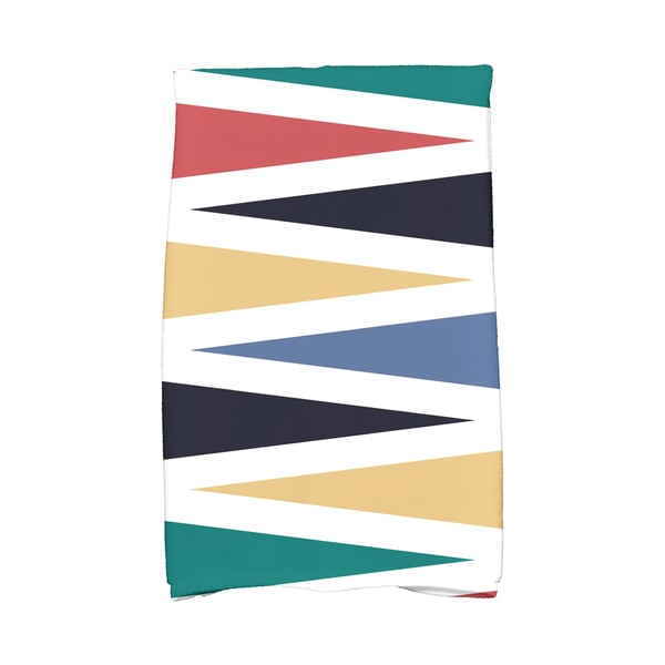 16 X 25-inch Backgammon Geometric Print Hand Towel