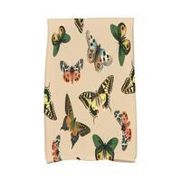 16 X 25-inch Butterflies Animal Print Hand Towel
