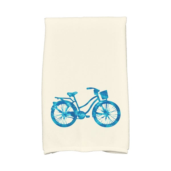 16 X 25-inch Life Cycle Geometric Print Hand Towel