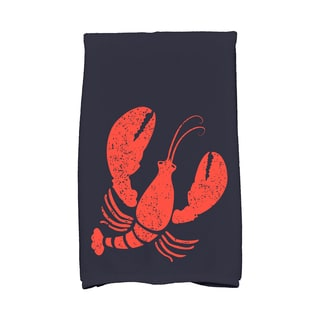 16 X 25-inch Lobster Animal Print Hand Towel