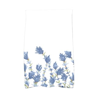 16 X 25-inch Floral Print Hand Towel