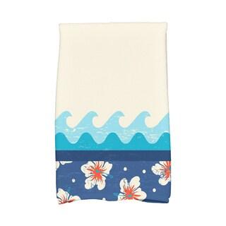 16 X 25-inch Hang Ten Floral Print Hand Towel