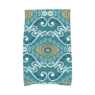 16 X 25-inch Illuminate Geometric Print Hand Towel