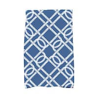 16 X 25-inch Know the Ropes Geometric Print Hand Towel