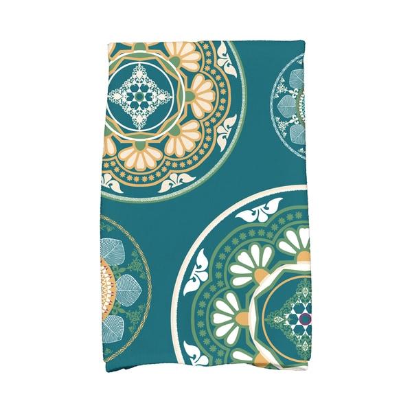 16 X 25-inch Medallions Geometric Print Hand Towel