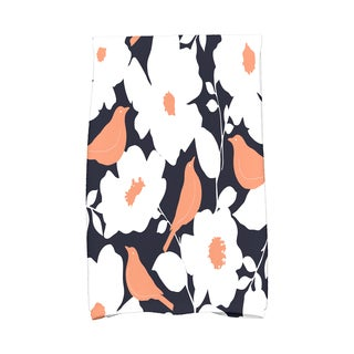 16 X 25-inch Modfloral Floral Print Hand Towel