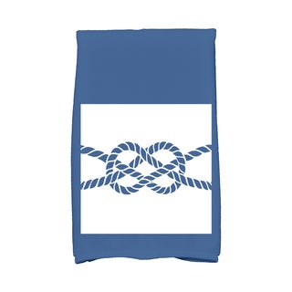 16 X 25-inch Nautical Knot Geometric Print Hand Towel